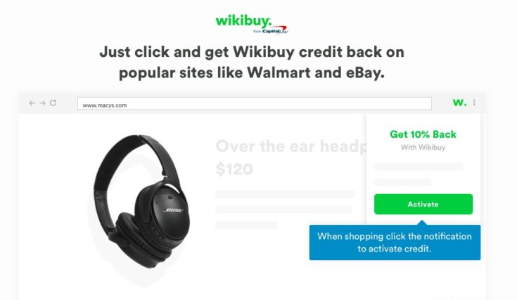 Wikibuy Review - screenshot of Walmart offer