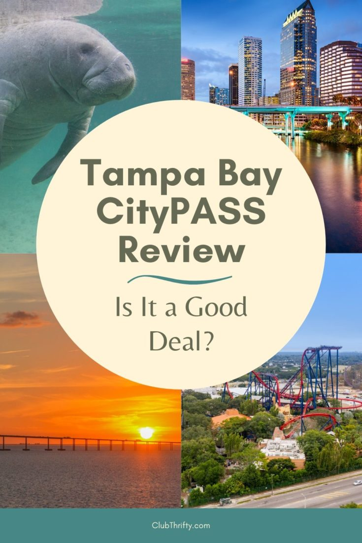Tampa Bay CityPASS pin - pictures of Tampa area
