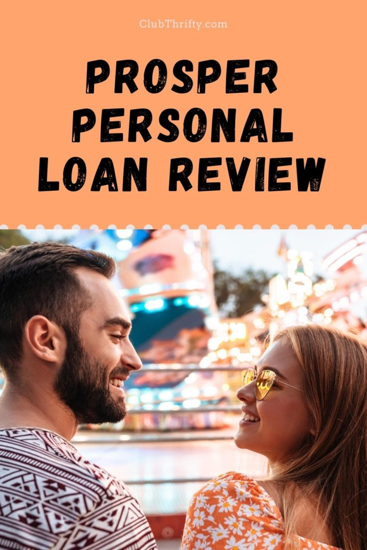 Prosper Personal Loan Review Pin - picture of young couple gazing at each other