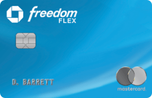 image of chase freedom flex card