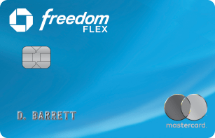 Chase Freedom Flex Card image