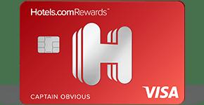 image of hotels.com credit card