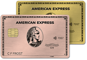 Amex Gold Card and Rose Gold Card