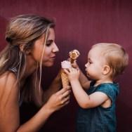 Lăsați copiii să mănânce înghețată! Nu fac roșu-n gât de la alimente reci!