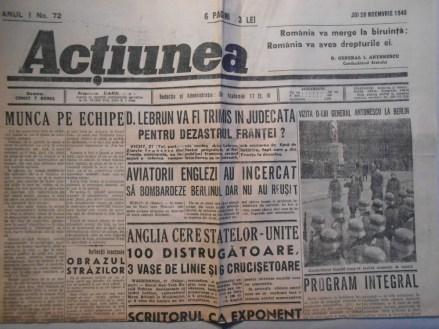 Actiunea 28 Noiembrie 1940