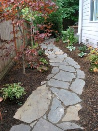 Comfy Front Yard Pathways Landscaping Ideas You Must Know05