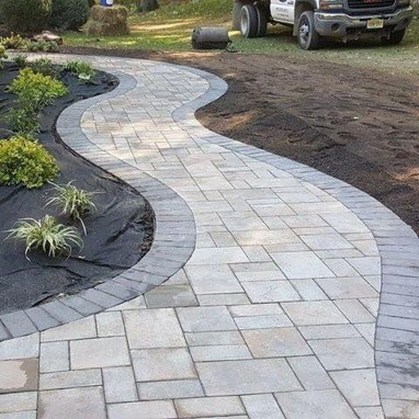 Comfy Front Yard Pathways Landscaping Ideas You Must Know12