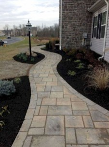 Comfy Front Yard Pathways Landscaping Ideas You Must Know30