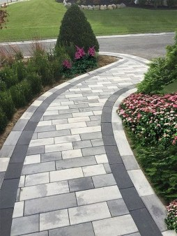 Comfy Front Yard Pathways Landscaping Ideas You Must Know34