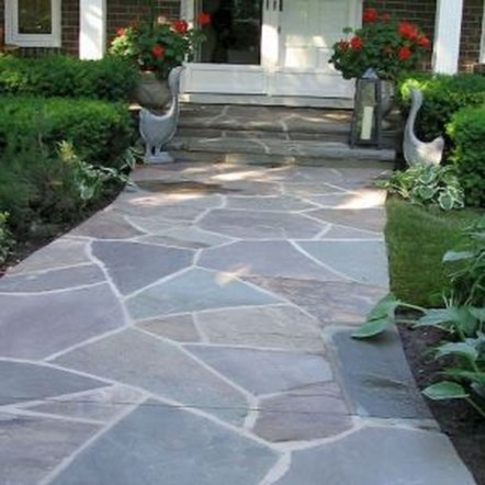 Comfy Front Yard Pathways Landscaping Ideas You Must Know37