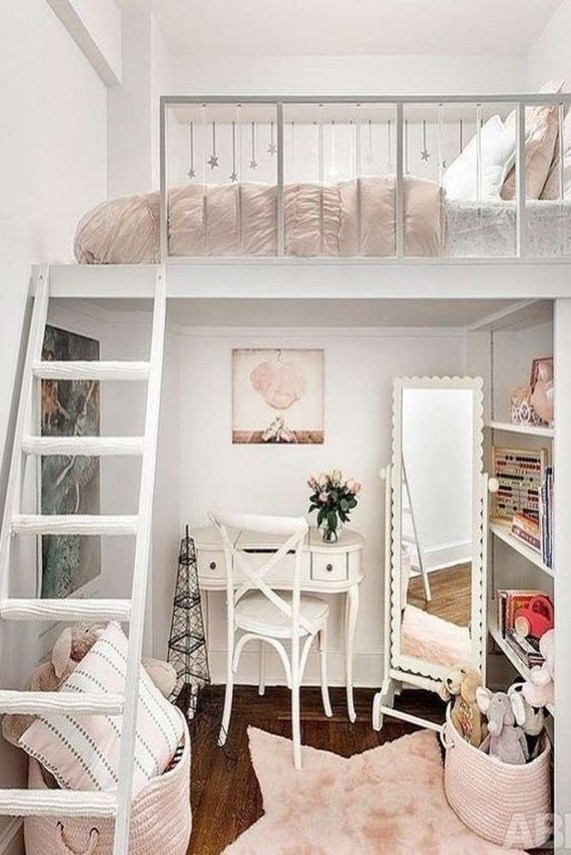Delicate Tiny Bedroom Decor Ideas For Teens42