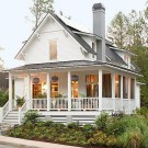 Elegant Farmhouse Exterior Design Ideas To Try21
