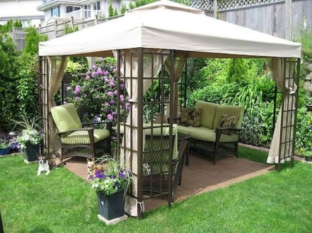 Gorgeous Backyard Gazebo Design Ideas You Must Have09