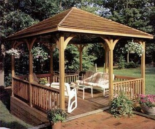 Gorgeous Backyard Gazebo Design Ideas You Must Have18