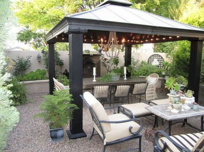 Gorgeous Backyard Gazebo Design Ideas You Must Have20