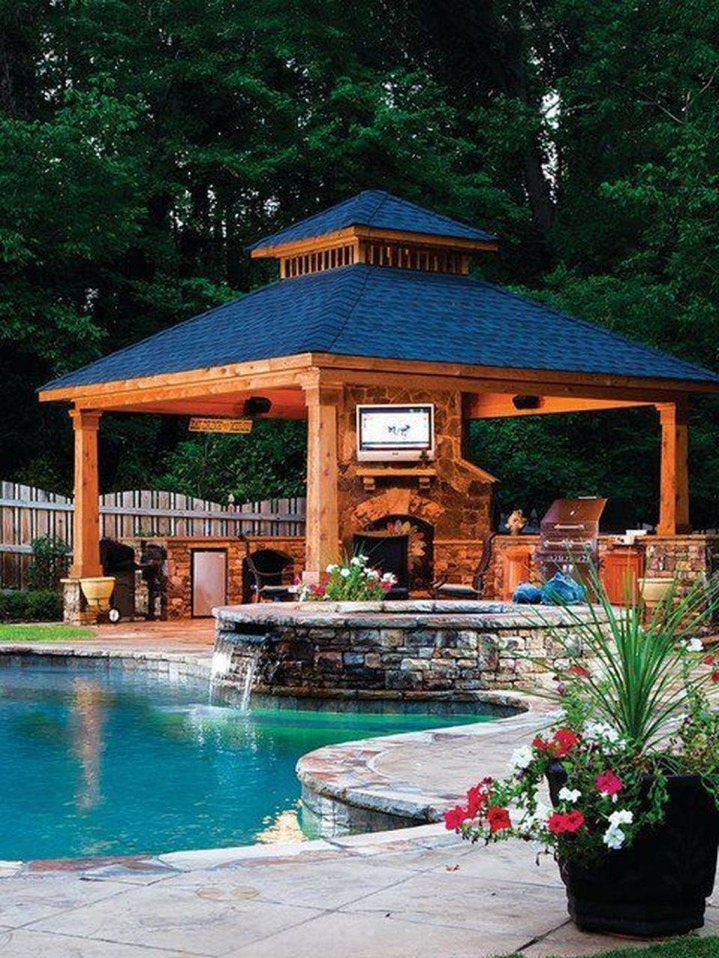 Gorgeous Backyard Gazebo Design Ideas You Must Have22