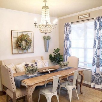 Graceful Farmhouse Dining Room Design Ideas That Looks Cool06