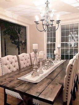 Graceful Farmhouse Dining Room Design Ideas That Looks Cool07
