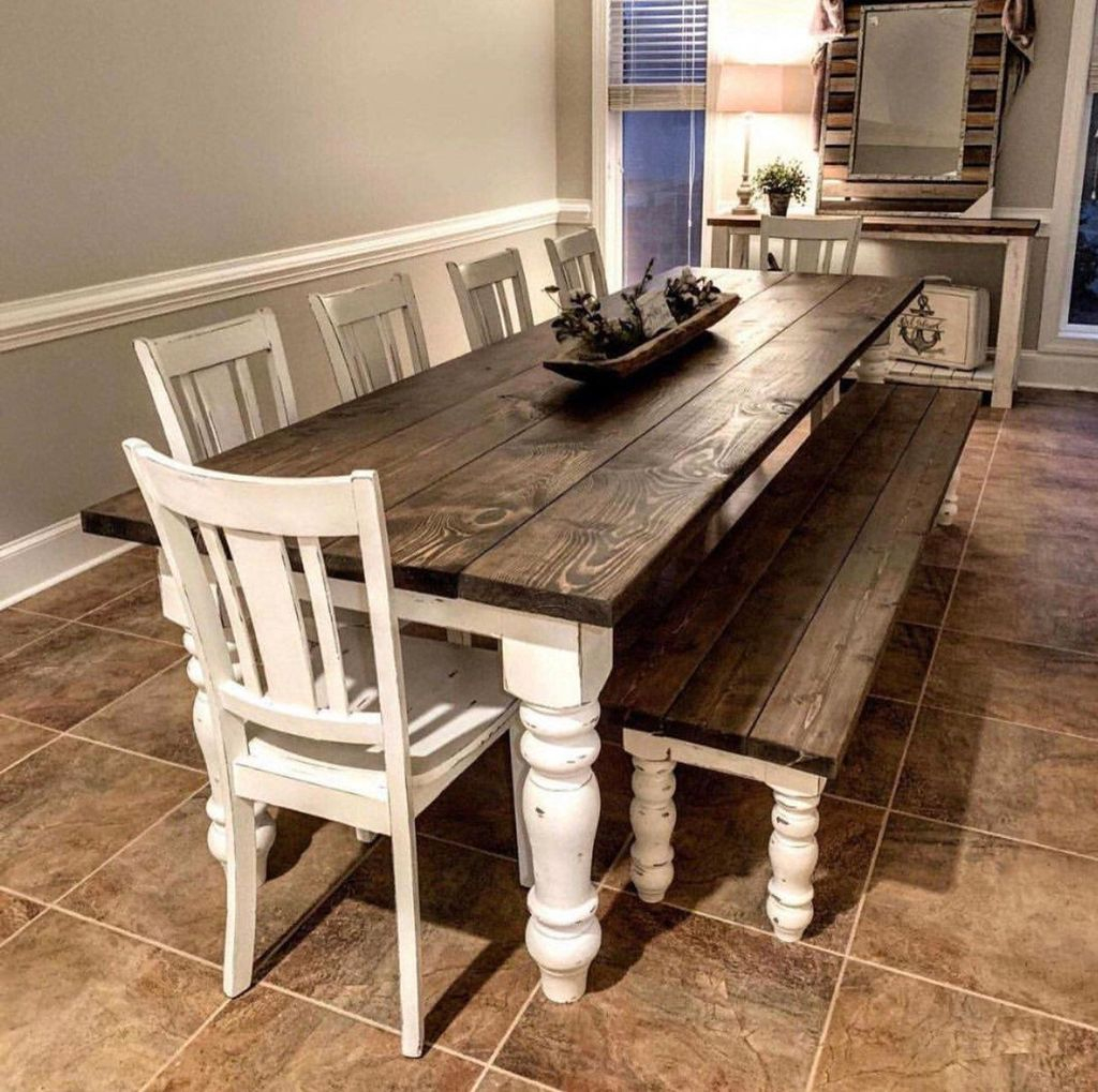 Graceful Farmhouse Dining Room Design Ideas That Looks Cool28