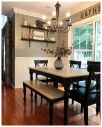 Graceful Farmhouse Dining Room Design Ideas That Looks Cool33