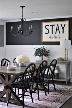 Graceful Farmhouse Dining Room Design Ideas That Looks Cool40