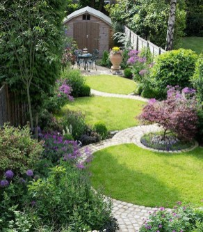 Lovely Backyard Garden Ideas That Looks Elegant26