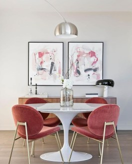 Luxury Feminime Dining Room Design Ideas To Try Asap44