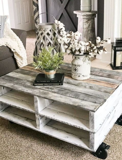 Pretty Coffee Table Design Ideas To Try Asap34