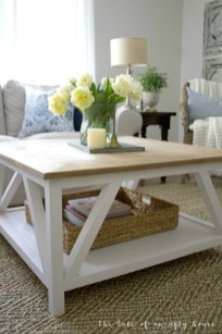 Pretty Coffee Table Design Ideas To Try Asap45
