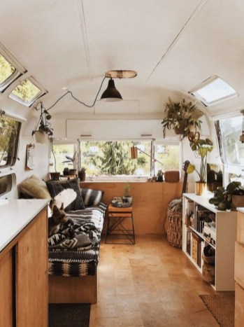 Unique Airstream Interior Design Ideas You Must Have25