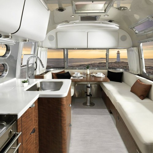 Unique Airstream Interior Design Ideas You Must Have28