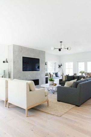 Adorable Black Living Room Ideas That Looks Cool13