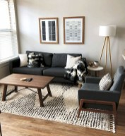 Adorable Black Living Room Ideas That Looks Cool17