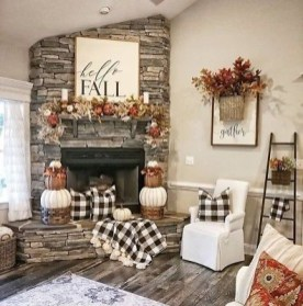 Awesome Living Room Decoration Ideas For Fall02