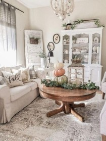 Awesome Living Room Decoration Ideas For Fall04