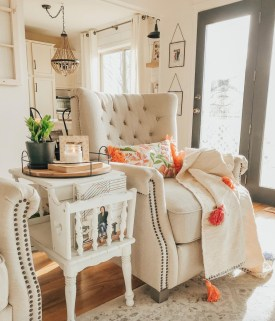 Awesome Living Room Decoration Ideas For Fall05