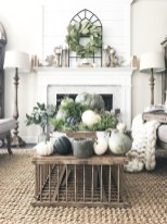 Awesome Living Room Decoration Ideas For Fall10