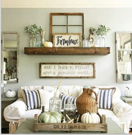 Awesome Living Room Decoration Ideas For Fall16
