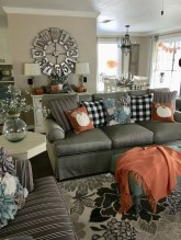 Awesome Living Room Decoration Ideas For Fall33