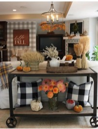 Awesome Living Room Decoration Ideas For Fall36