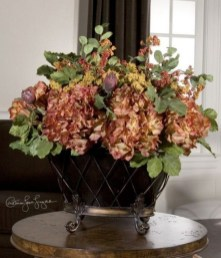 Brilliant Faux Flower Fall Arrangements Ideas For Indoors01