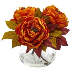 Brilliant Faux Flower Fall Arrangements Ideas For Indoors09