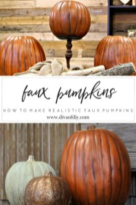 Excellent Diy Fall Pumpkin Topiary Ideas For Home Décor01