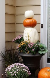 Excellent Diy Fall Pumpkin Topiary Ideas For Home Décor11