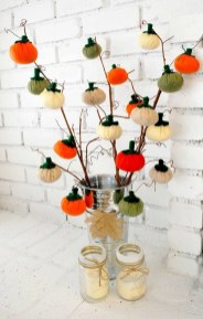 Excellent Diy Fall Pumpkin Topiary Ideas For Home Décor20