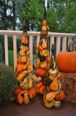 Excellent Diy Fall Pumpkin Topiary Ideas For Home Décor30
