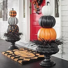 Excellent Diy Fall Pumpkin Topiary Ideas For Home Décor32