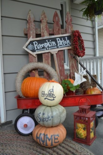 Excellent Diy Fall Pumpkin Topiary Ideas For Home Décor40