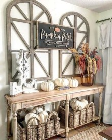 Stunning Fall Home Decor Ideas With Farmhouse Style39