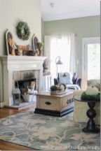 Wonderful Fireplace Makeover Ideas For Fall Home Décor02